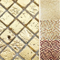 Pietra Naturale Resin Mosaico Lucky
