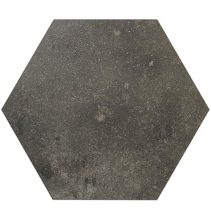 Piastrelle Casablanca Hexagon Antracite 52x60cm