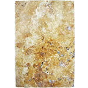 Pietra Naturale Piastrelle Travertin Castello Gold 40,6x61cm